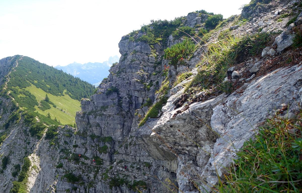 Klettersteig Iseler : Bergtour iseler am  schwäbischer albverein ortsgruppe