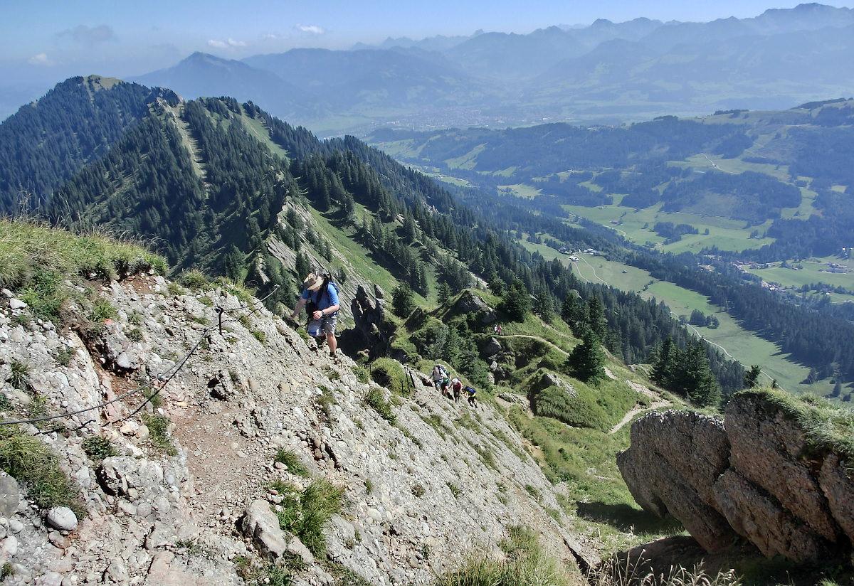 Klettersteig Immenstadt : Allgäu erleben stuiben